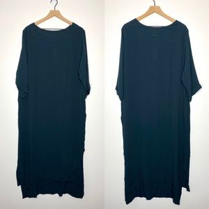 NWT Anthro Holding Horses Crepe Pullover Mid Dress